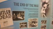 Exhibition panel - The End of the War