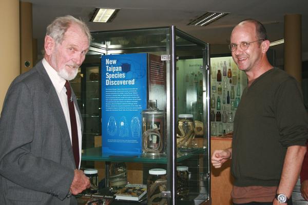 Paul Doughty with Harry Butler