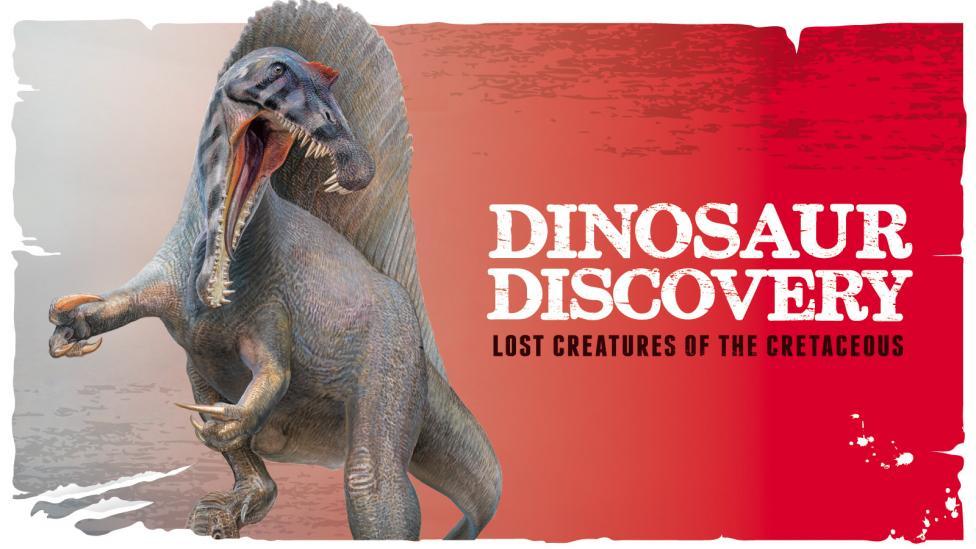 Dinosaur Discovery exhibition logo Image copyright of WA Museum