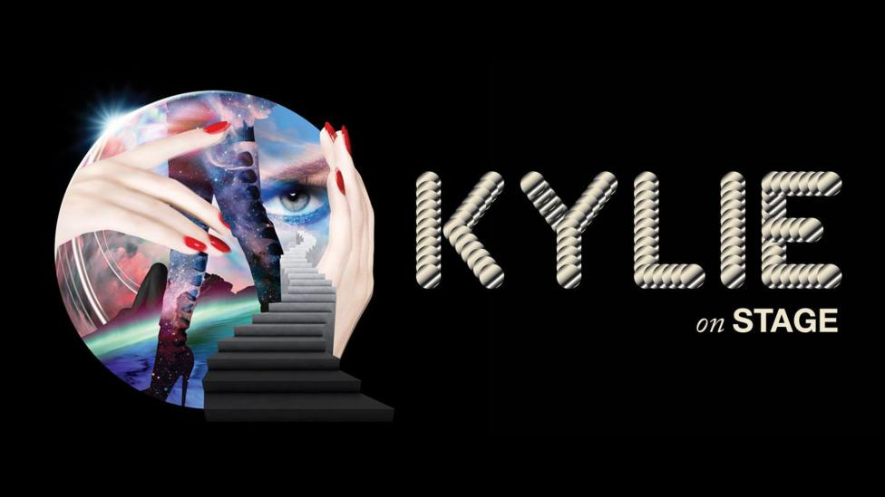 Kylie exhibition promotion