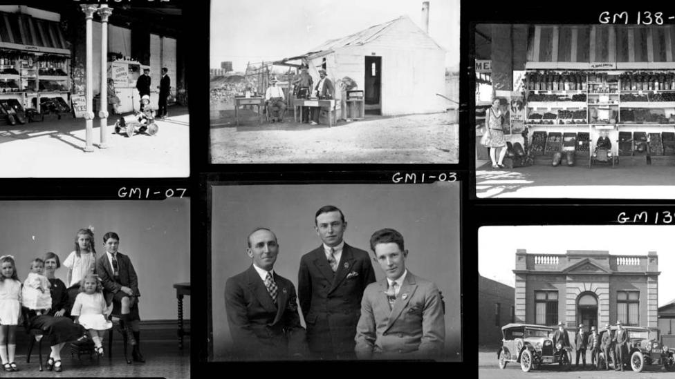 Slides from the Dywer and Mackay photographic collection