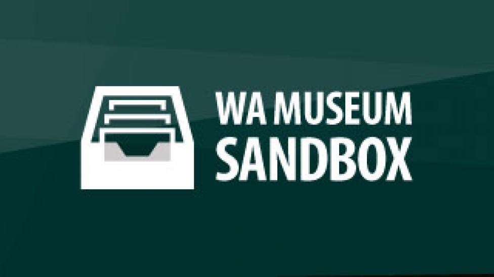 The WA Museum Sandbox logo