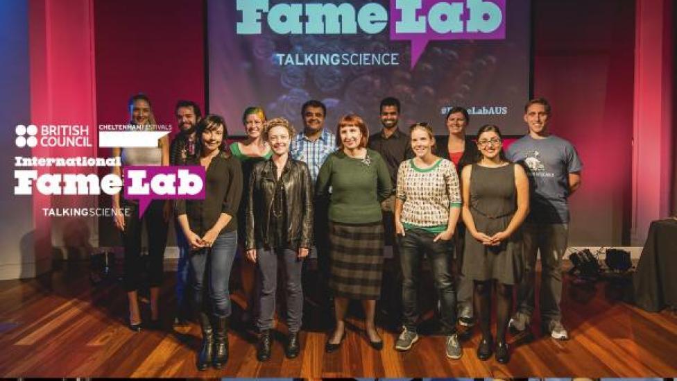 FameLab 2015 National Finalists