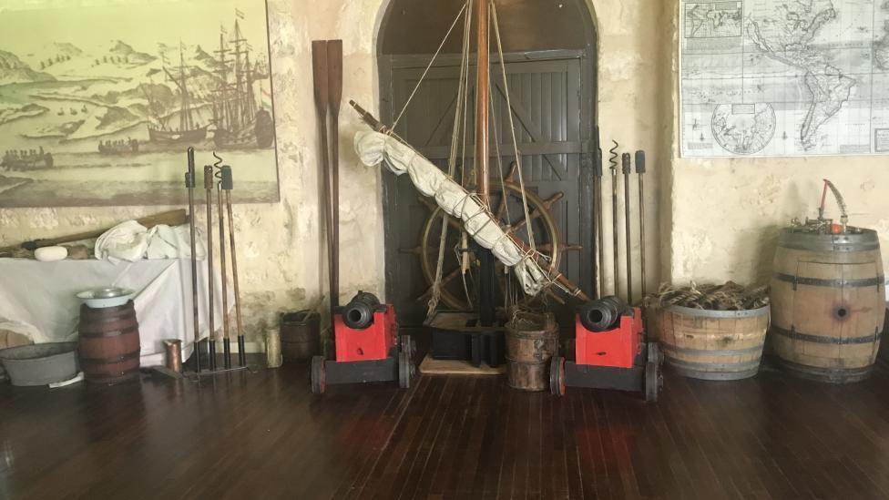 Shipwrecks Education Activity Room