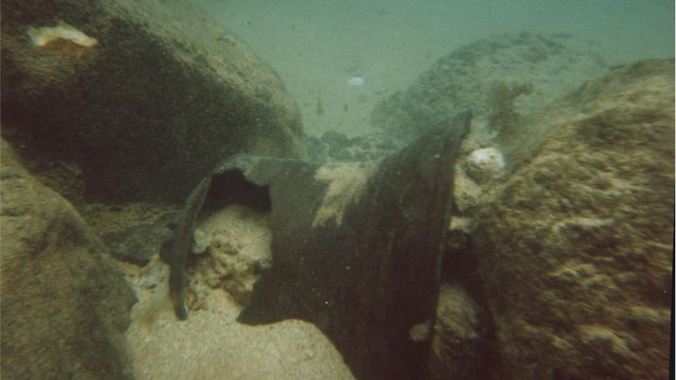 Roebuck's bell found by team led by WA Museum's Dr Michael (Mack) McCarthy