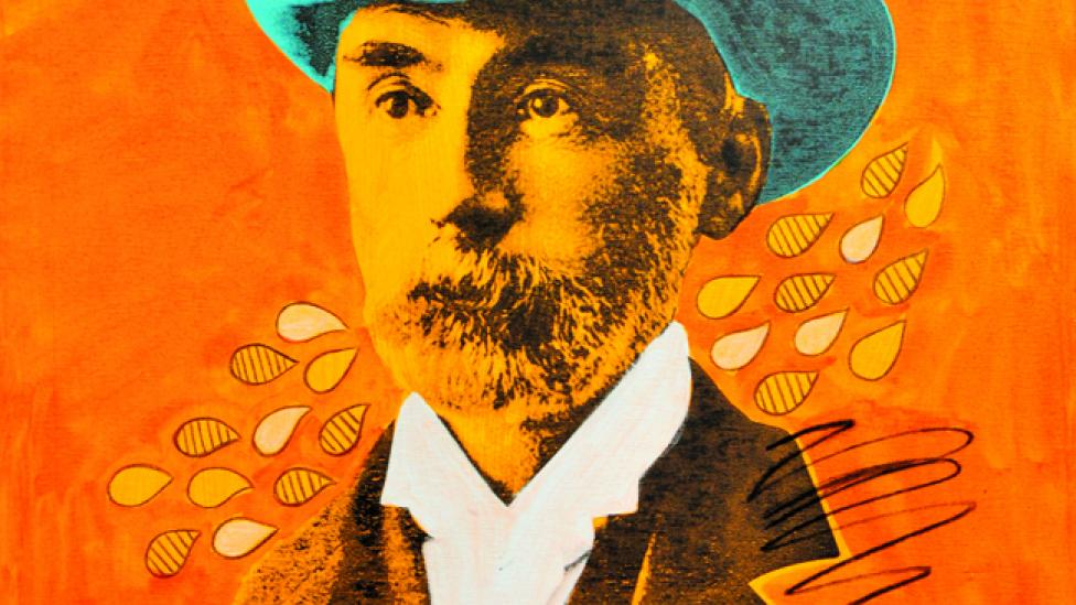 Stylised portrait of C.Y. O'Connor
