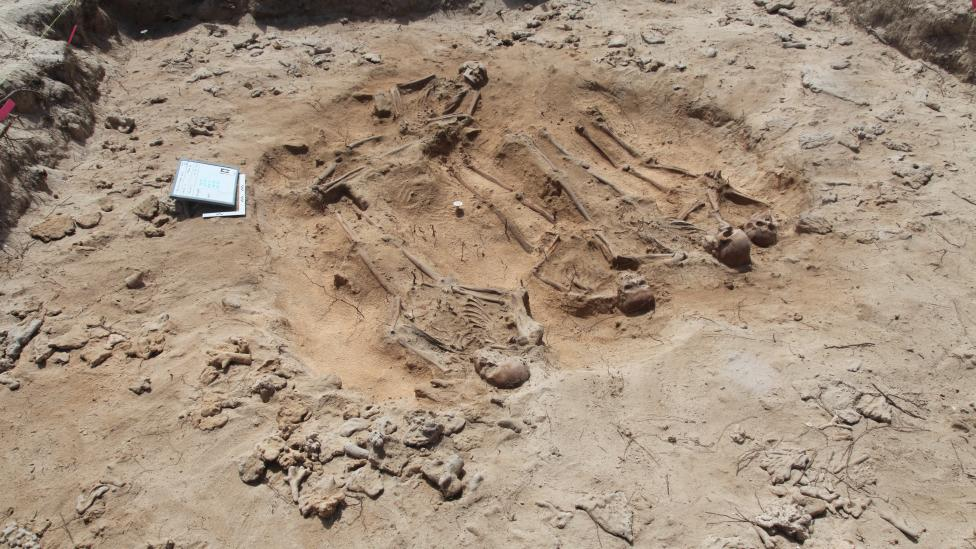 New grave containing five sets of human remains discovered on Beacon Island