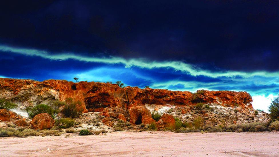 rocky outback landscape