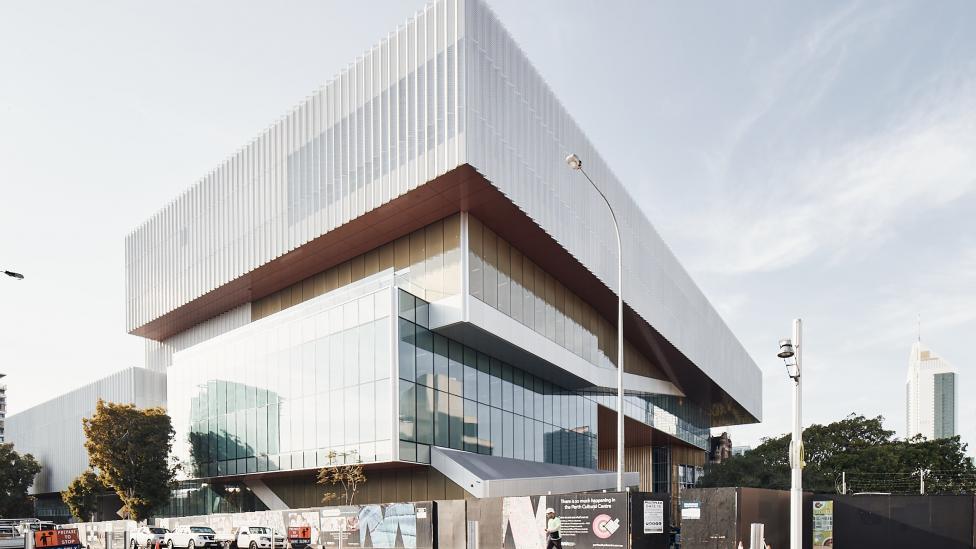 Caption: New Museum for Western Australia