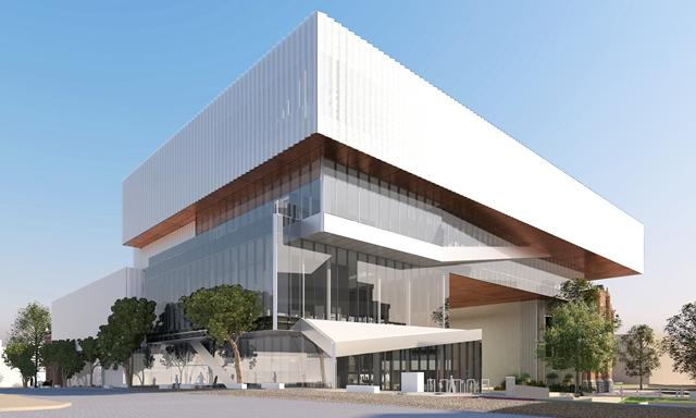 New museum project western australian museum for Oma design museum