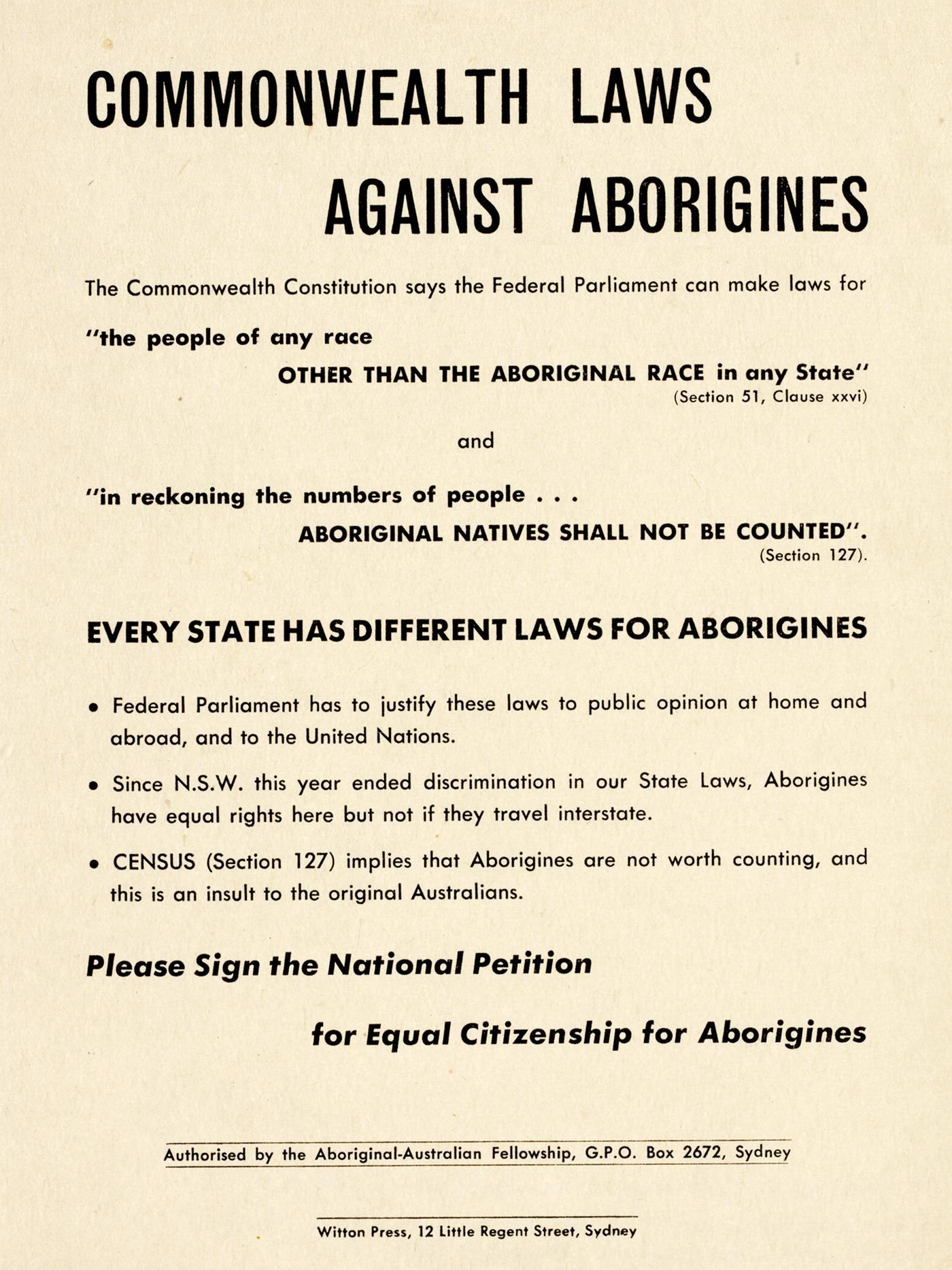 Citizenship Referendum National Petition Form