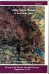 Supplement 64: Subterranean Biology in Australia 2000