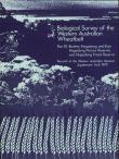 Supplement 9: Biological Survey of the Western Australian Wheatbelt Part 10