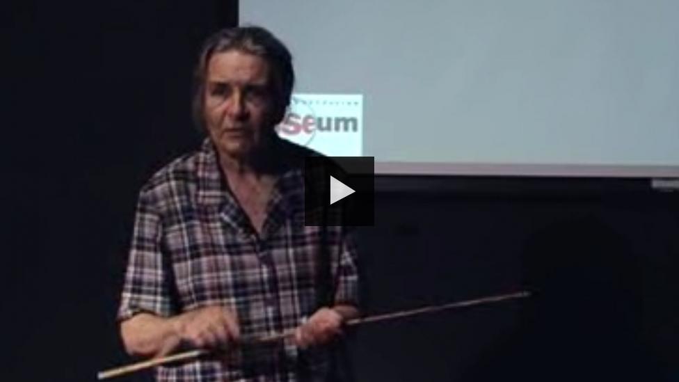 Profile of the talk's presenter, Shirley Slack-Smith